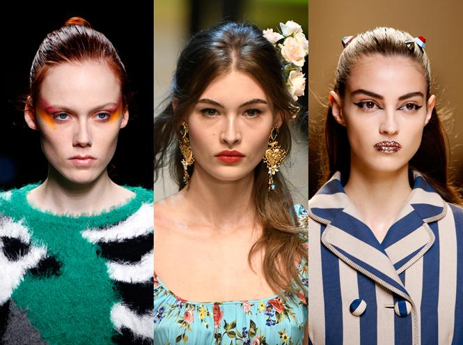 Фото №1 - Тренды макияжа сезона весна-лето 2017
