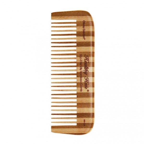Бамбуковая расческа Healthy Hair Comb 4, Olivia