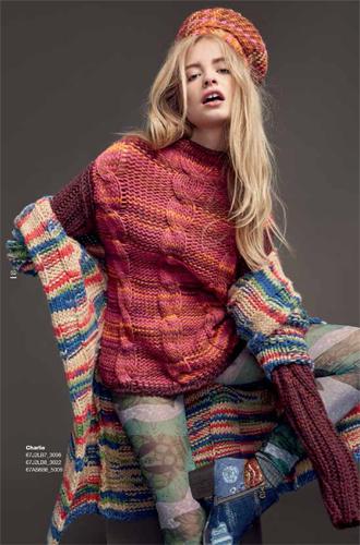 Фото №13 - Модная эклектика в новой осенне-зимней коллекции Desigual