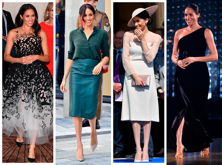 Фото №1 - Лучшие образы Меган Маркл за первый год в королевской семье