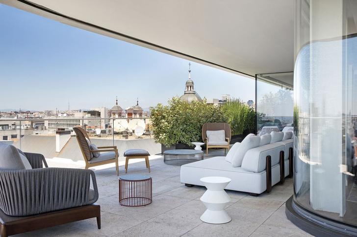 Фото №5 - Двухэтажный пентхаус в Мадриде