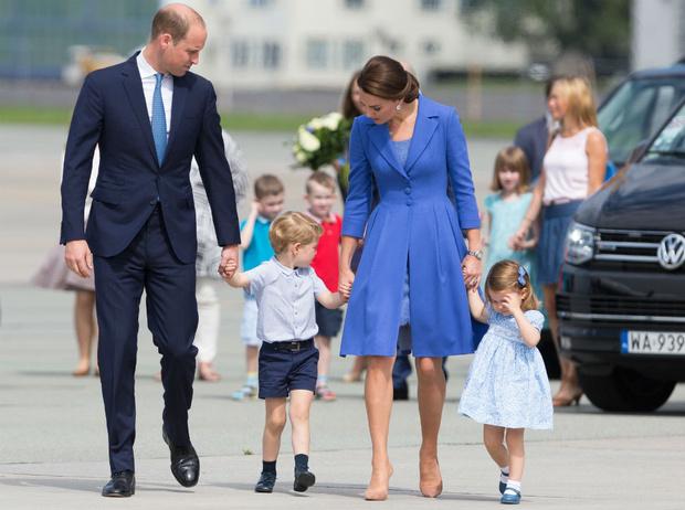 Фото №2 - Как герцогиня Кейт хотела назвать принца Джорджа, и почему она передумала