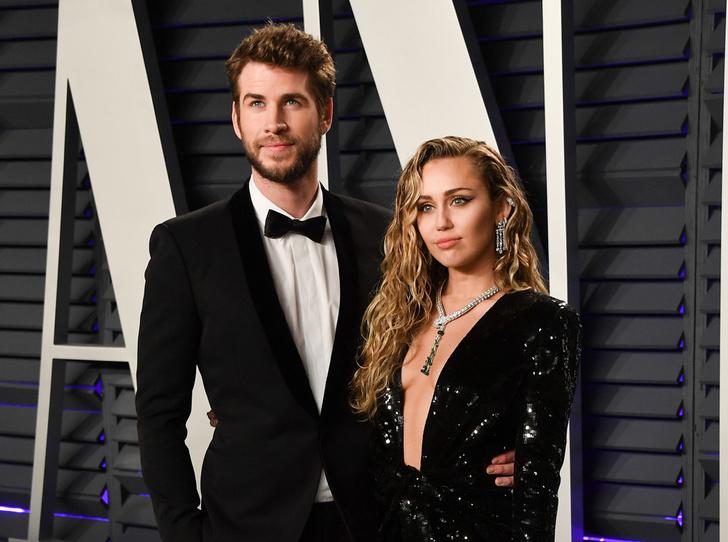 Фото №1 - Самые стильные звездные пары на вечеринке Vanity Fair-2019