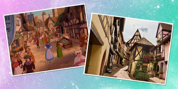 Фото №2 - 9 реальных мест, которые ты видела в диснеевских мультфильмах
