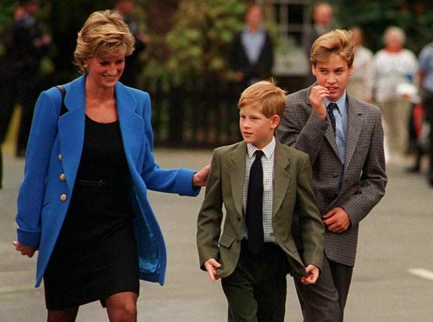 Фото №2 - Неисполненная клятва: что принц Уильям пообещал Диане за год до ее гибели