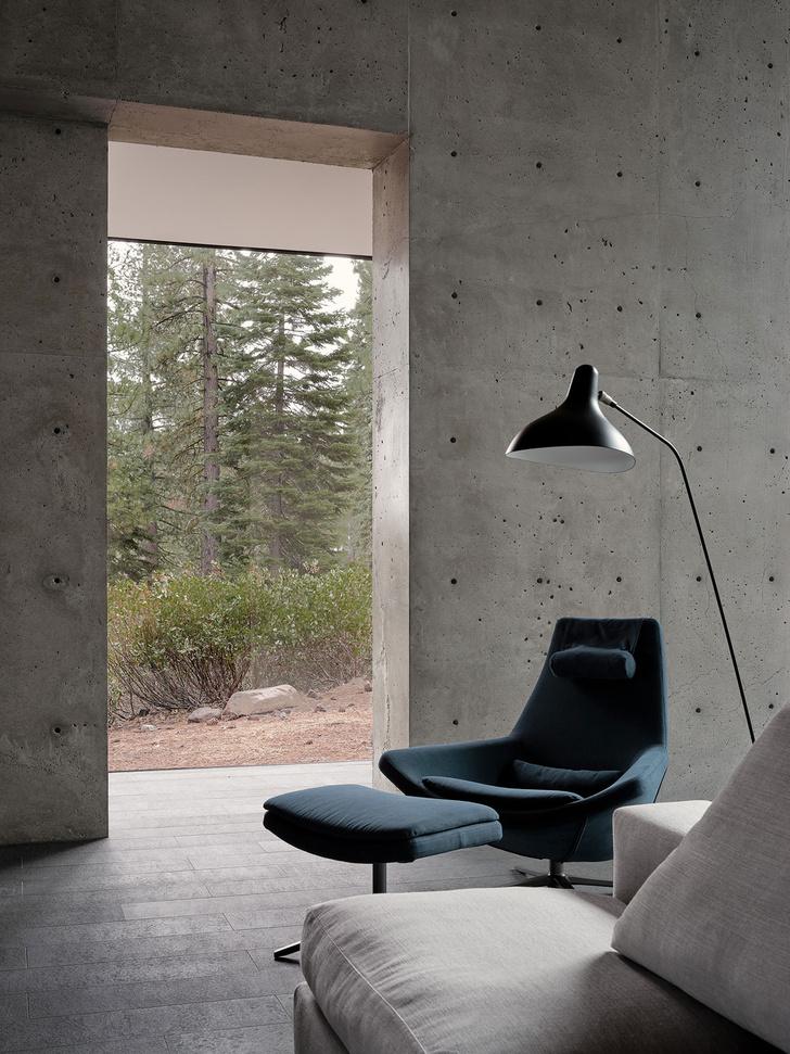 Фото №4 - Модернистский дом на горнолыжном курорте в Калифорнии