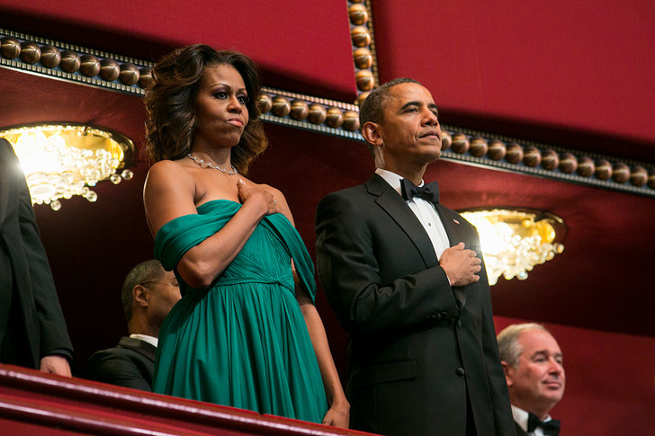 Мишель Обама, юбилей