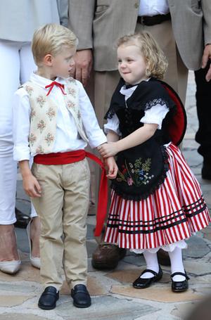 Фото №50 - Принц Жак и принцесса Габриэлла: четвертый год в фотографиях
