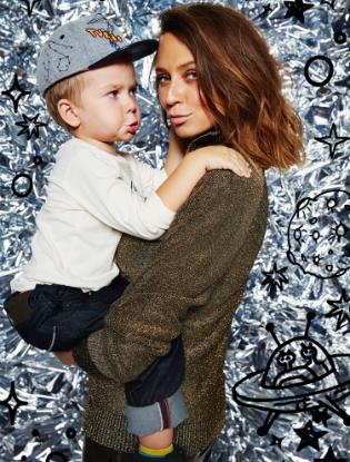 Фото №6 - Звездные мамы и дети в лукбуке H&M Studio Kids