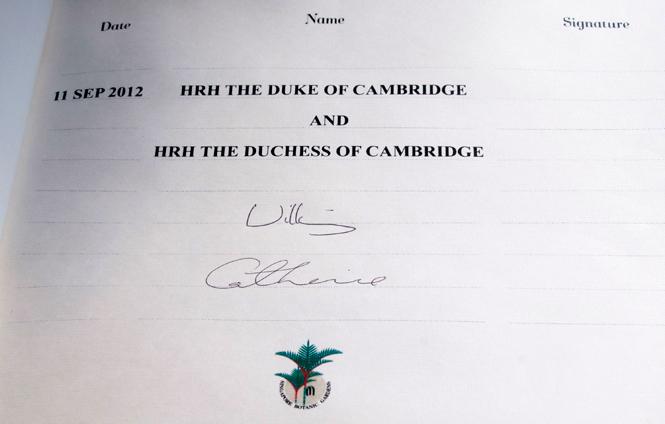 Фото №8 - Что говорят подписи Кейт Миддлтон и принца Уильяма об их браке?