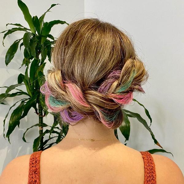 Фото №6 - Временное окрашивание: как легко сменить цвет волос на несколько дней