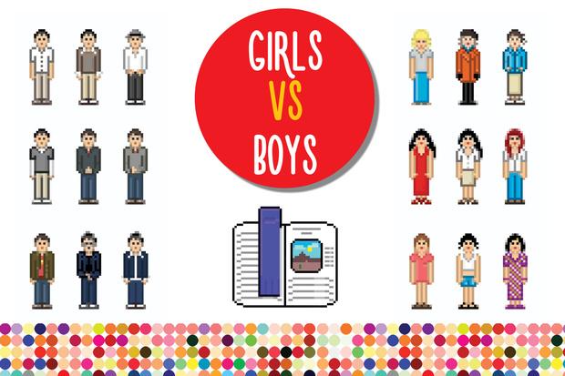Фото №10 - Большая разница: девочки VS мальчики в цифрах