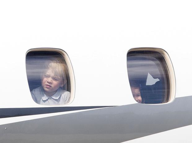Фото №12 - Мама, ну идем же: принцессе Шарлотте не терпелось покинуть Польшу