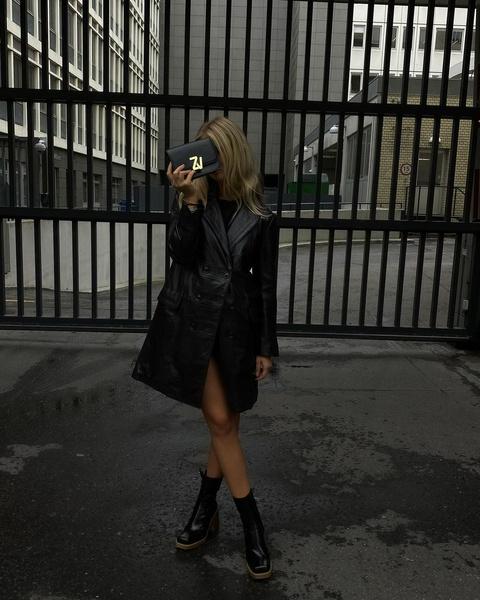 Фото №5 - Обувь с квадратным мысом: как носят фэшн-блогеры 👢