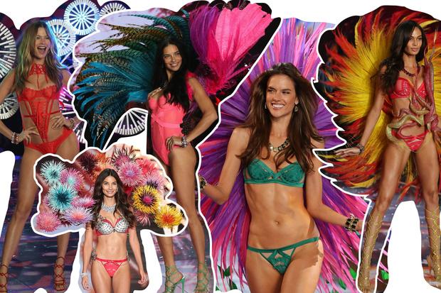 Фото №17 - Самые красивые образы с показа Victoria's Secret