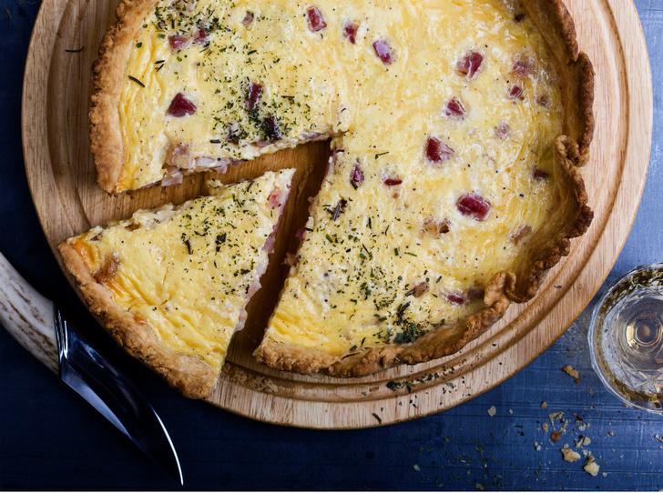 Фото №1 - Рецепт недели: французский пирог киш Лорен