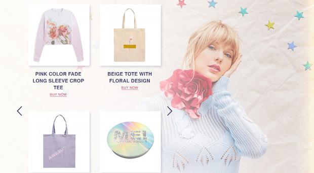 Фото №1 - Тейлор Свифт презентовала коллекцию одежды, вдохновленную новым альбомом