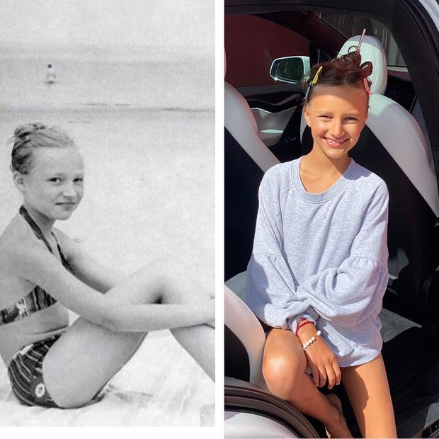 Фото №2 - 8-летняя дочь Кистины Орбакайте выглядит, как ее близняшка