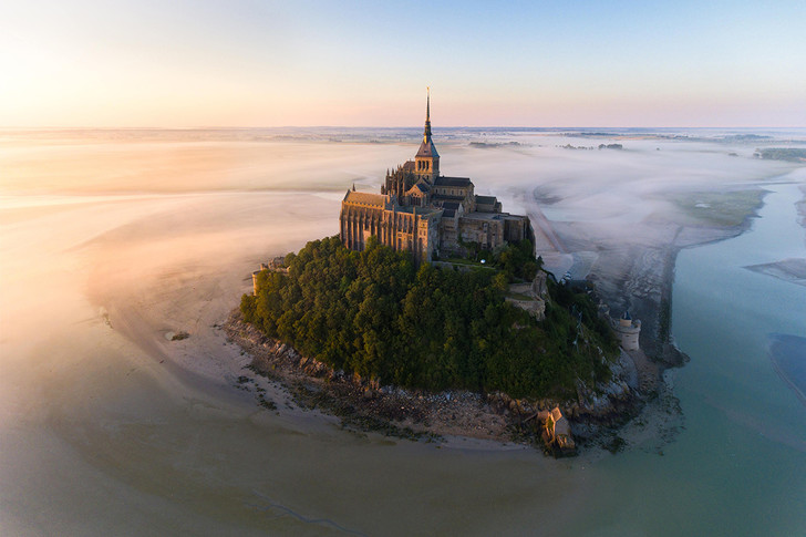 Фото №1 - Остров-крепость в объективе дрона