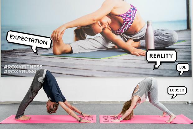 Фото №13 - Все, что ты хотела знать о йоге: мастер-класс от гуру Roxy Yoga