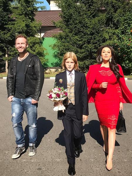 Ирина Дубцова, сын Ирины Дубцовой, фото