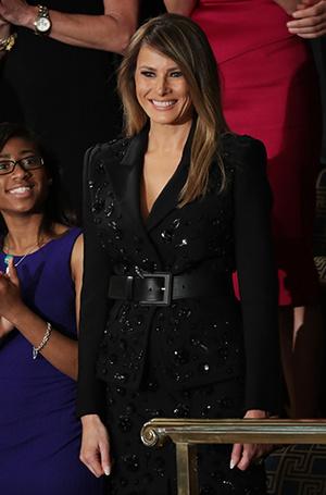 Фото №17 - Мелания Трамп: новые стандарты стиля Первой леди