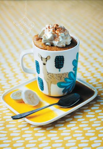 Фото №2 - Десерт за 10 минут: кексы в кружке