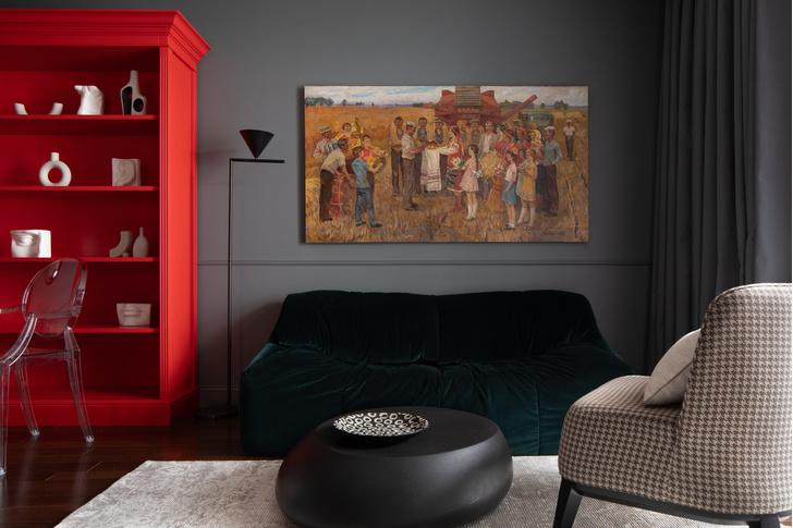 Фото №2 - «Хулиганская» квартира для яркой московской пары