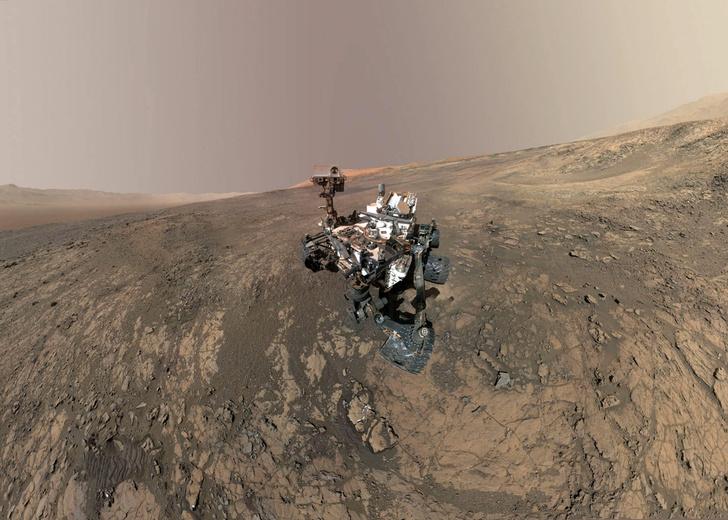 Фото №1 - На Марсе найдена глина