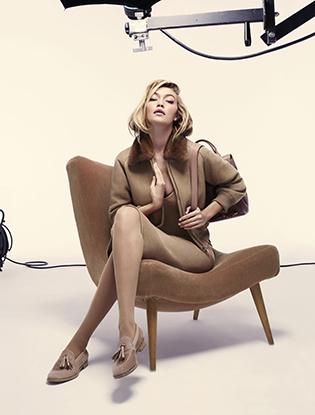 Фото №3 - Джиджи Хадид в рекламной кампании Max Mara