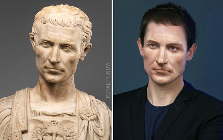 Фото №1 - Как выглядели бы исторические личности в современности (галерея)