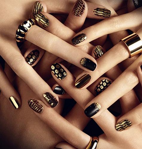 Дизайн ногтей осень-зима 2015. Фото.