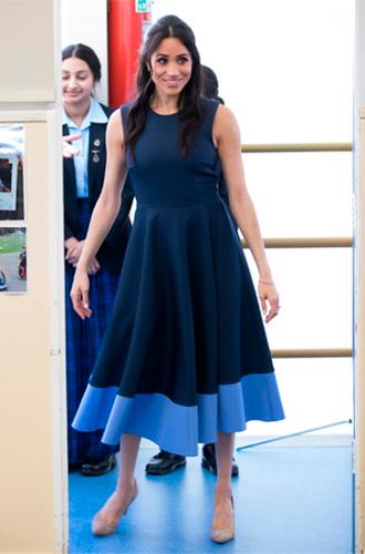 Фото №17 - Почему Кейт носит старые наряды, а Меган покупает новые