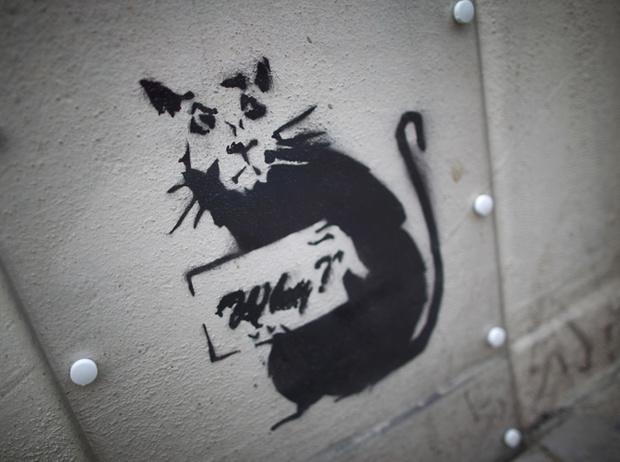 Фото №4 - Кто такой Бэнкси: художник, «качественный вандал» и провокатор
