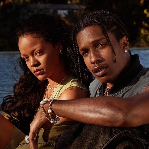 Фото №1 - «Она— единственная»: A$AP Rocky подтвердил роман с Рианной 😍