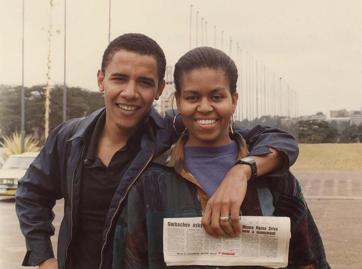 Фото №8 - Мишель Обама и ее триумф: как проходило «становление» Первой леди