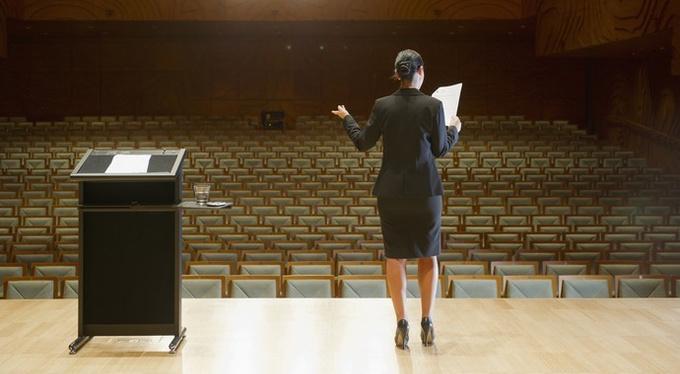 Как не задыхаться и не дрожать во время публичного выступления
