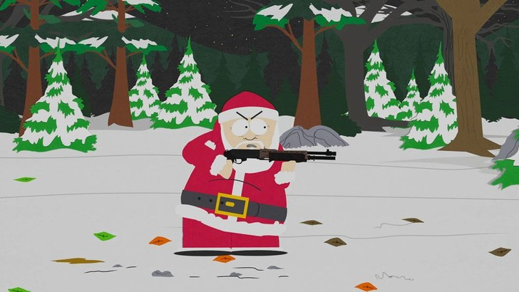 Фото №1 - Разведка ВВС США засекла Санта-Клауса в России