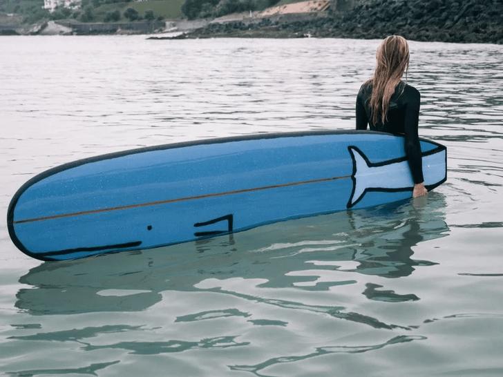 Фото №5 - Крупная рыба: доски для серфинга в виде морских животных