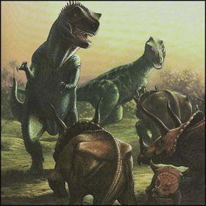 Фото №1 - Динозавр наследил на двух континентах