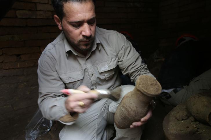 Фото №1 - В Египте нашли древнейшую на планете пивоварню