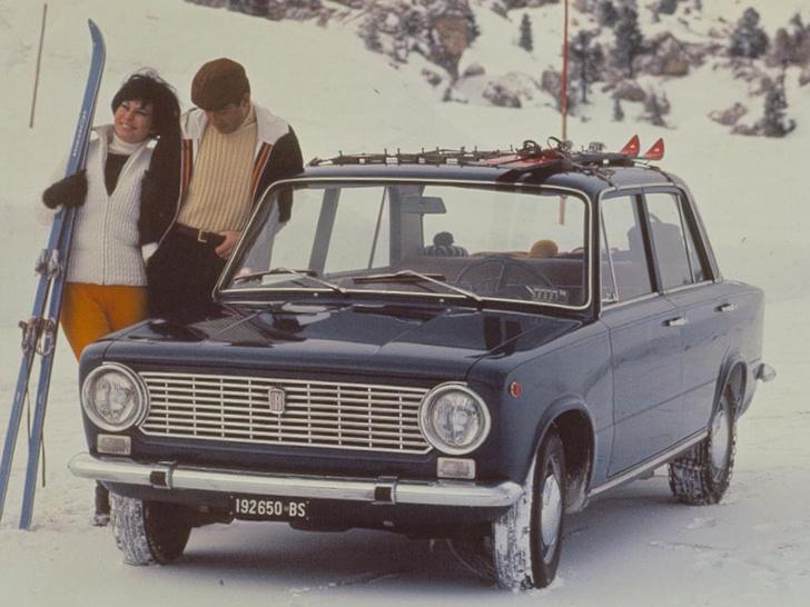 Оригинальный FIAT 124, ставший прообразом «копейки»
