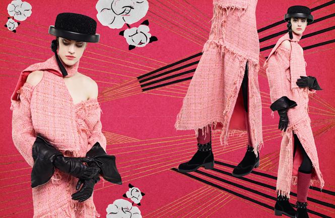 Фото №8 - Коллажи Карла Лагерфельда: креативная кампания Chanel FW 16/17