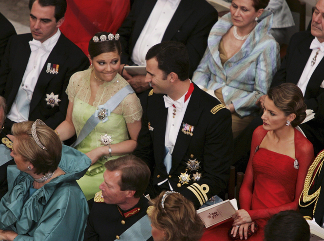 Фото №54 - Самые забавные моменты на королевских свадьбах (истории в фотографиях)