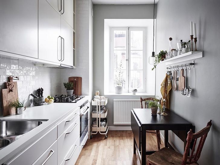 Фото №7 - Маленькая кухня: 8 полезных идей и лайфхаков