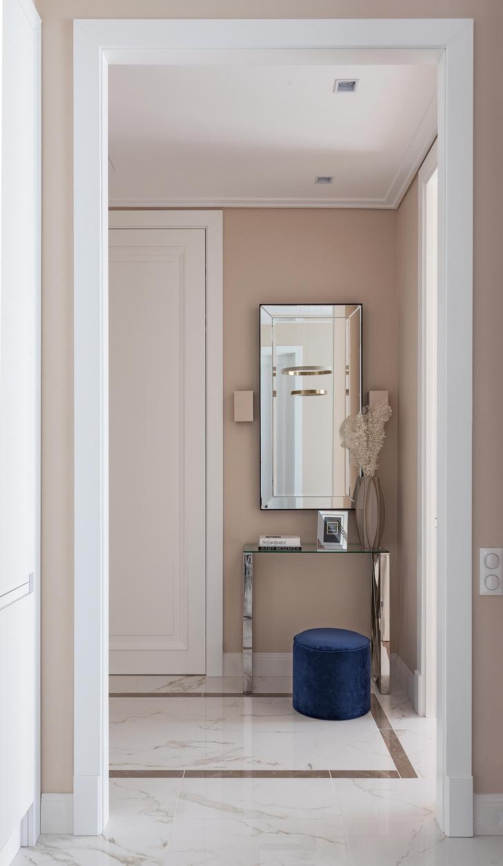 Фото №6 - Московская квартира 58 м² в пастельных тонах
