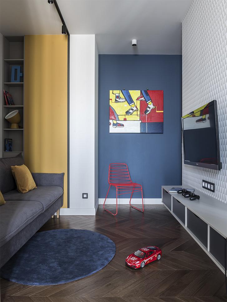 Фото №12 - Серо-голубая квартира в Самаре