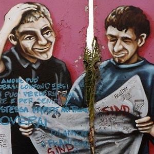 Фото №1 - Берлинскую стену отремонтируют