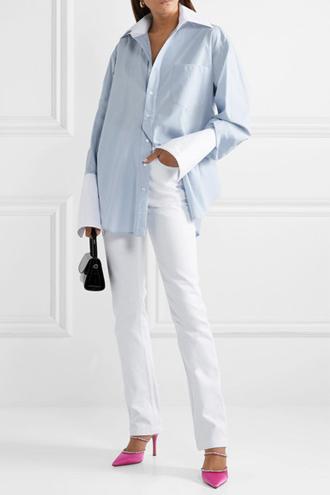 Фото №7 - 3 сочетания с белыми джинсами, которые облегчат сборы