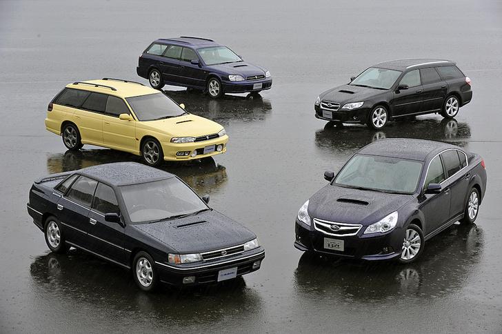 Фото №7 - На шесть звезд: интересные факты из истории Subaru